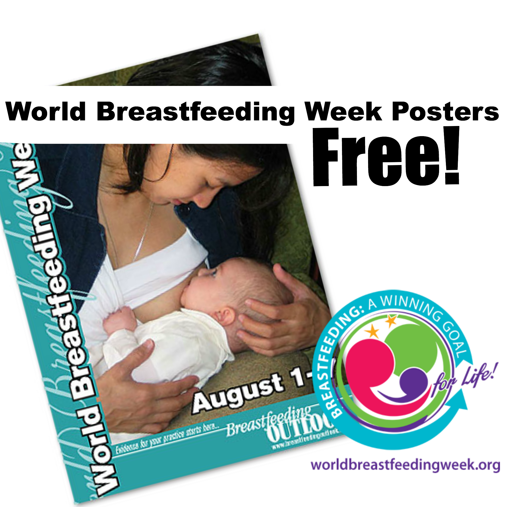 Breastfeeding Outlook World Breastfeeding Week Posters